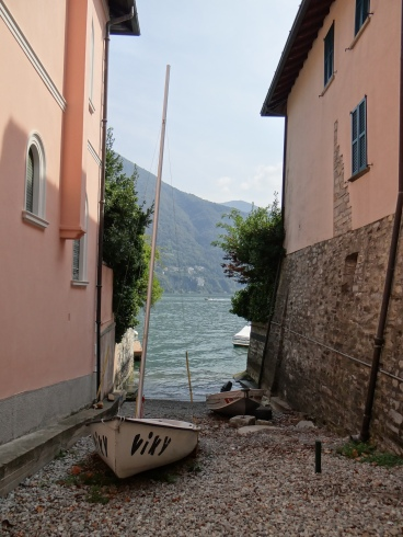 Weekend road trips have included a day at Lake Como