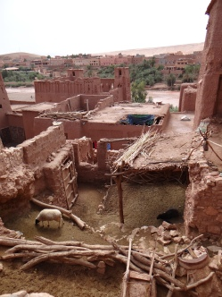 The ancient village of Aït Benhaddou