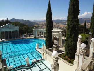 The epic grounds of Hearst Castle